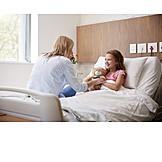 Tochter, Krankenhaus, Krankenbesuch