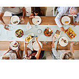 Family, Dining Table, Lunch