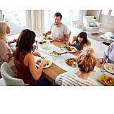 Familie, Gemeinsam, Mittagessen