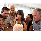 Birthday, Daughter, Birthday Cake