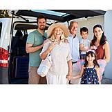 Ferien, Familie, Gruppenbild