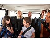 Familie, Generationen, Autoreise
