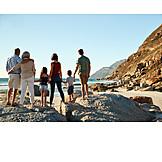 Strand, Familie, Generationen