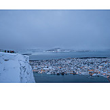 Winter, Norway, Tromsø