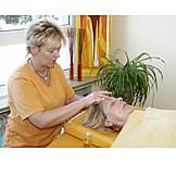 Massieren, Massage, Masseurin