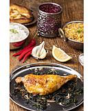 Indische Küche, Hühnchen
