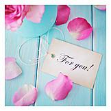 Valentinstag, Anhänger, Für Dich, For You