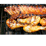 Grilled Meat, Barbecue