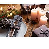 Festive, Banquet, Christmas
