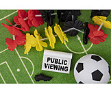 Fußball, Public Viewing