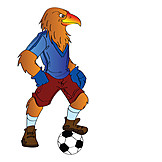Fußball, Adler