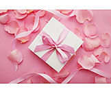Gift, Valentine, Rose