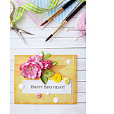 Happy Birthday, Craft, Birthday Card