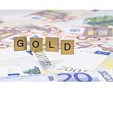 Gold, Cash trays
