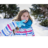 Girl, Winter, Cool