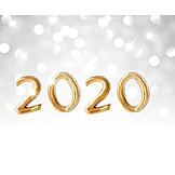 Silvester, Jahreswechsel, 2020