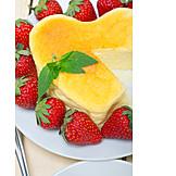 Heart, Cheesecake, Pie