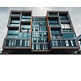 Immobilie, Hamburg, Fensterputzer, Hafencity