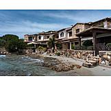 House, Beach, Sardinia