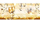 Sekt, Silvester, Neujahr