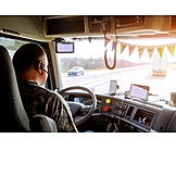 Trucker, Truck Driver, Truck Driver
