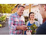 Kunden, Gärtnerei, Kundenberatung
