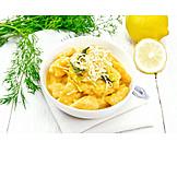 Vegetarisch, Italienische Küche, Gnocchi