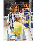 Shopping, Together, Supermarket