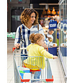 Shopping, Together, Supermarket