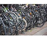 Bicycle Rack, Bicycles