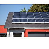 Solarzellen, Solarenergie, Solardach