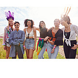 Fashion, Friends, Music Festival