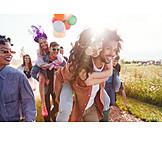 Summer, Festival, Friends