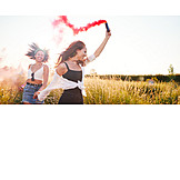 Summer, Celebrations, Friends, Smoke Bomb