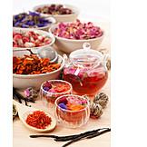 Tea, Dried Food, Flowers