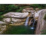 Waterfall, Hua Shan
