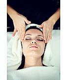Entspannung, Kopfmassage