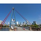 Footbridge, Frankfurt, Holbein Bridge