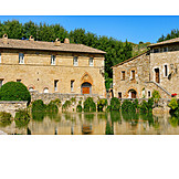 Wohnhaus, Bagno Vignoni