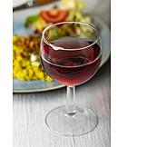 Rotwein, Käsespätzle