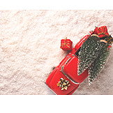 Christmas Decoration, Christmas Tree, Toy Car