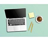 Laptop, Arbeitsplatz