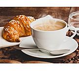 Coffee, Croissant