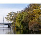 Herbst, Hamburg, Alster