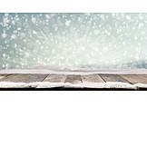 Winter, Snow, Light Beam