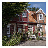 House, Timbered, Luebeck