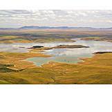 Landscape, Reservoir, Extremadura