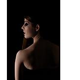 Profile, Naked, Sensual