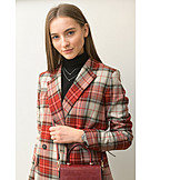 Woman, Fashionable, Blazer