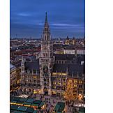 Munich, New Town Hall, Marienplatz
